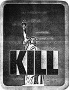 Aldo Tambellini: Kill, 1974 (click to enlarge)